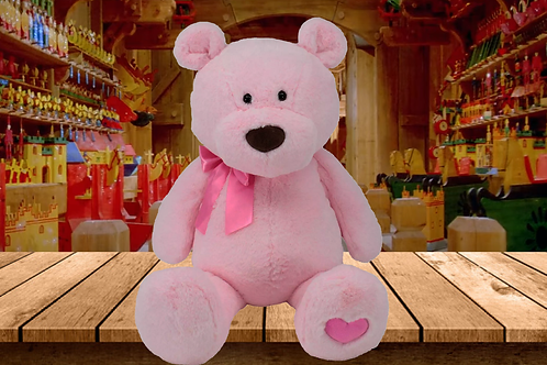 Peppermint the Bear - The Bear that Wears its Heart on its Paw