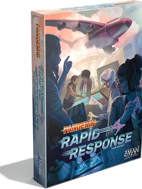 Z-Man Games Pandemic: Rapid Response - 2 or More Players