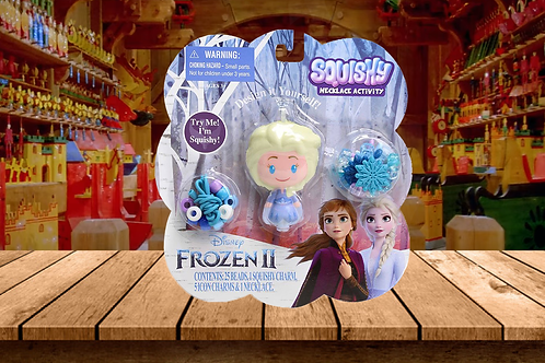 Frozen 2 Squishy Necklace Activity - Elsa