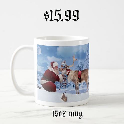 """Best Friends"" 15 oz. Mug - Designed by Santa"