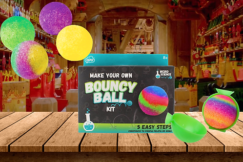 D.I.Y. Make Your Own Bouncy Ball Kit