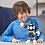 Thumbnail: Playskool Heroes Mega Mighties Power Rangers Black Ranger 10-inch Figure