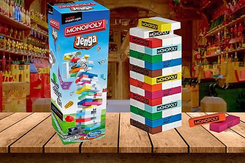Game Mashups Monopoly Jenga Game