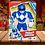 Thumbnail: Playskool Heroes Mega Mighties Power Rangers Blue Ranger 10-inch Figure