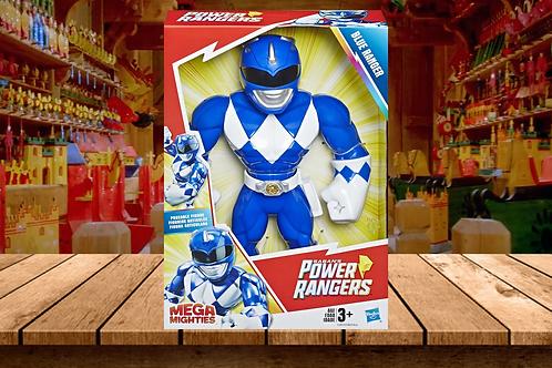 Playskool Heroes Mega Mighties Power Rangers Blue Ranger 10-inch Figure