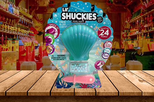 Lil' Shuckies Pearl Party - Teal