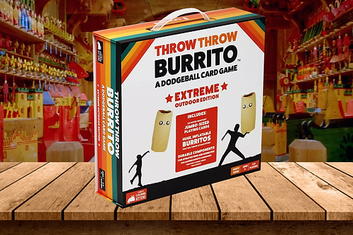 Throw Throw Burrito - A Dodgeball Card Game - Family-Friendly
