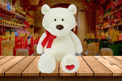 Snowball the Bear - The Bear that Wears its Heart on its Paw