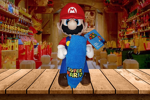 Mario Brothers Bath Buddy and Washcloth Set
