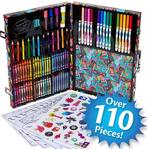 Crayola Trolls Art Case 110 Pieces