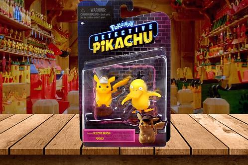 Pokémon Detective Pikachu and Psyduck Figure 2-Pack