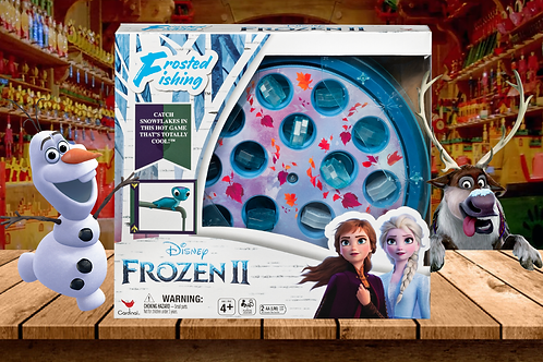 Frosted Fishing  Frozen 2 Disney by Cardinal Games