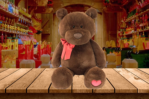Christmas Cookie the Bear - The Bear that Wears its Heart on its Paw