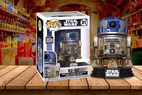 Funko! POP! Star Wars: R2-D2 (Dagobah)