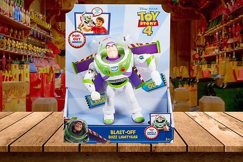 Disney Pixar Toy Story 4 Blast-Off Buzz Lightyear Figure, 7 in