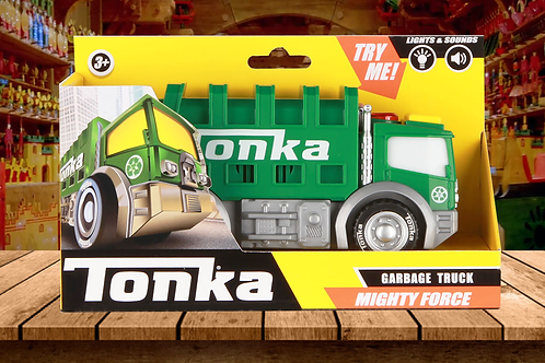Tonka Mighty Force - Garbage Truck Lights & Sounds