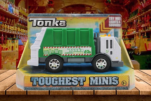 Tonka Real Tough Toughest Minis Garbage Truck