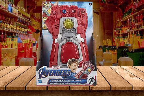 Avengers Marvel Endgame Red Infinity Gauntlet Electronic Fist
