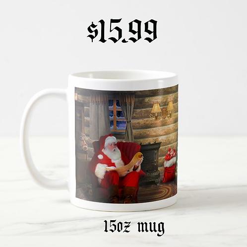 """The List"" 15 oz. Mug - Designed by Santa"