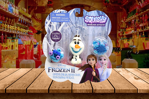 Frozen 2 Squishy Necklace Activity -Olaf