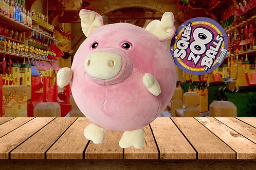 Squee-Zoo-Balls - Piggy - By Bulls i Toy