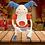 "Thumbnail: PoKéMoN Detective Pikachu Movie Mr. Mime Plush - Posable Arms & Legs - Large 13"""