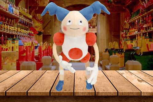 """PoKéMoN Detective Pikachu Movie Mr. Mime Plush - Posable Arms & Legs - Large 13"""""""
