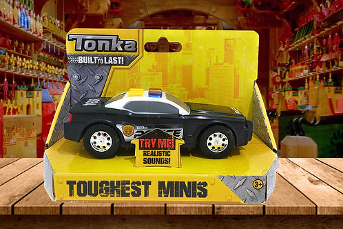 Tonka Real Tough Toughest Minis Police Vehicle