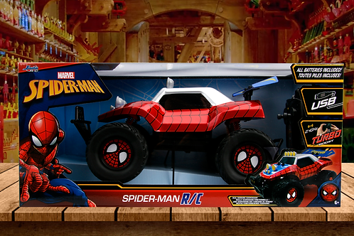 Spider-Man Marvel R/C 2.4 GHz Turbo Boost