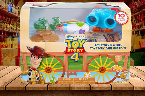 Toy Story 4 - 10-Piece Toy Story in a Box