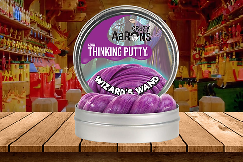 Crazy Aaron's Thinking Putty - Wizard's Wand - Glow in the Dark