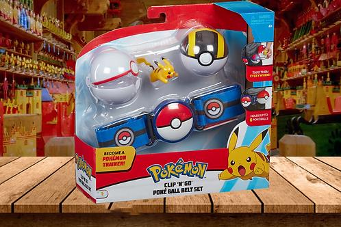 Pokemon - Clip'N' Go Poke Ball Set