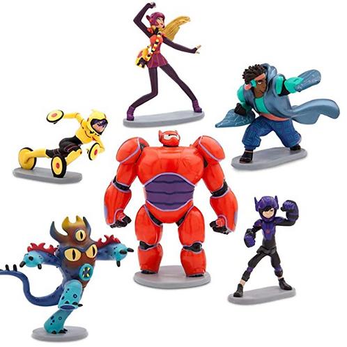 Disney 5-Piece Big Hero 6 Playset, Authentic