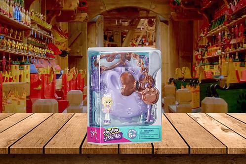 Shopkins Lil Secrets Bag Tag Lockets -Bunny Pet Hospital
