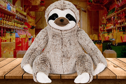 "Kelly Toys 20"" Sloth - Two-Tone Frosted Brown"
