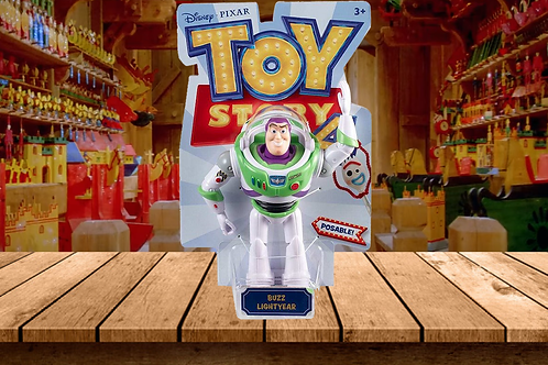 "Disney Pixar Toy Story Posable 7"" Buzz Lightyear Action Figure"