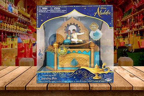 Aladdin Musical Jewelry Box with Ring
