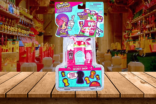 Shopkins Lil' Secrets Mini Playset -Rosie Blossom Cafe