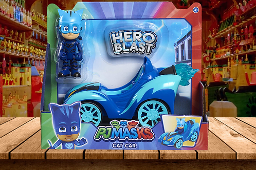 PJ Masks Hero Blast Vehicles-Catboy, Blue