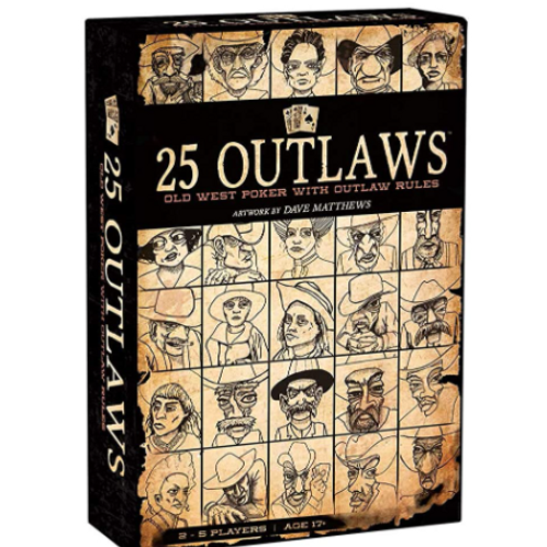 25 Outlaws - Old West Poker with Outlaw Rules