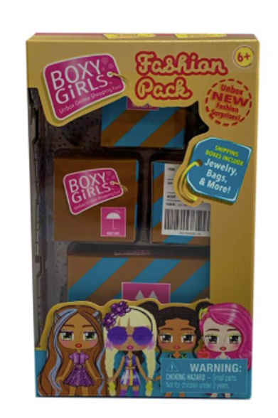 Boxy Girls Mini Doll Accessories - Surprise Unboxing!