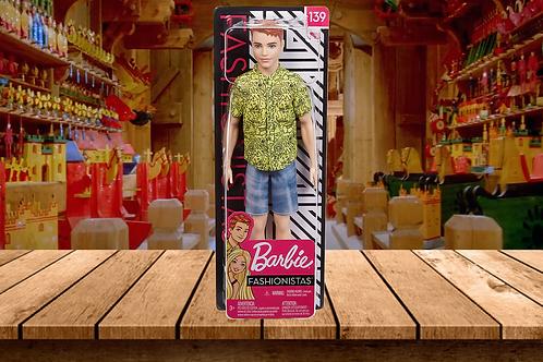 Barbie Ken Fashionistas Doll #139, Ginger