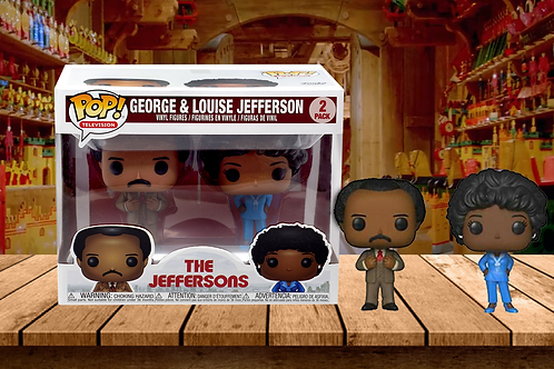 Funko Pop! TV: The Jeffersons - George and Louise Jefferson Exclusive