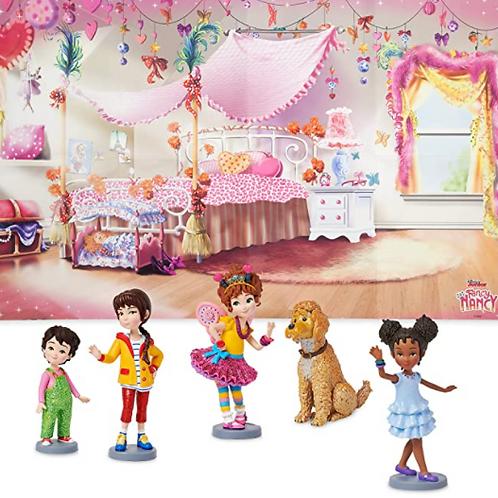 Disney 5-Piece Fancy Nancy Playset, Authentic
