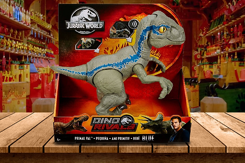 Jurassic World Primal Pal - Spring Loaded Action, Sounds Effects & Articulation