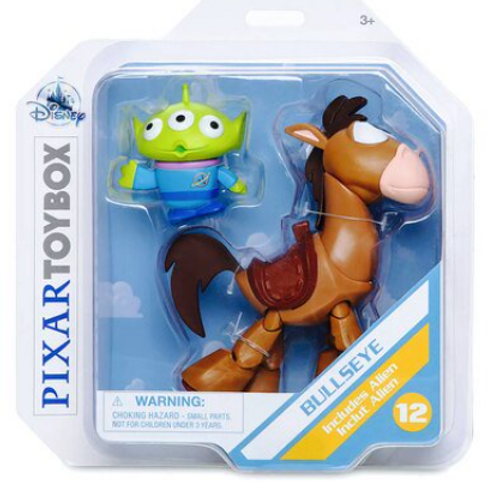 Disney Pixar Toy Story Bullseye Action Figure with Alien Companion ToyBox