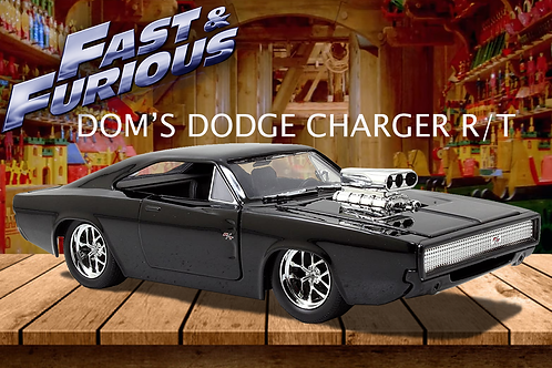 Jada Toys Fast & Furious 1:32 Diecast 1970 Dodge Charger