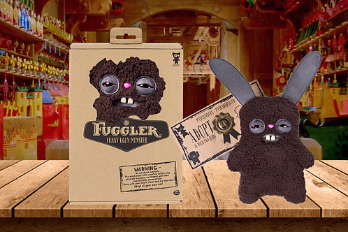 Fuggler – Funny Ugly Monster 9 Inch - Brown - Mischievous + Misunderstood
