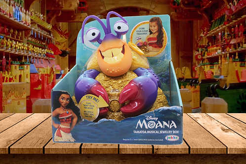 Moana Disney's Tamatoa Musical Jewelry Box