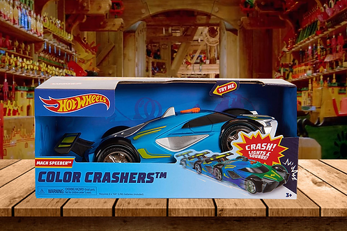Hot Wheels Race N Crash Mach Speeder